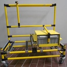 Chariot pour batteries-AGV