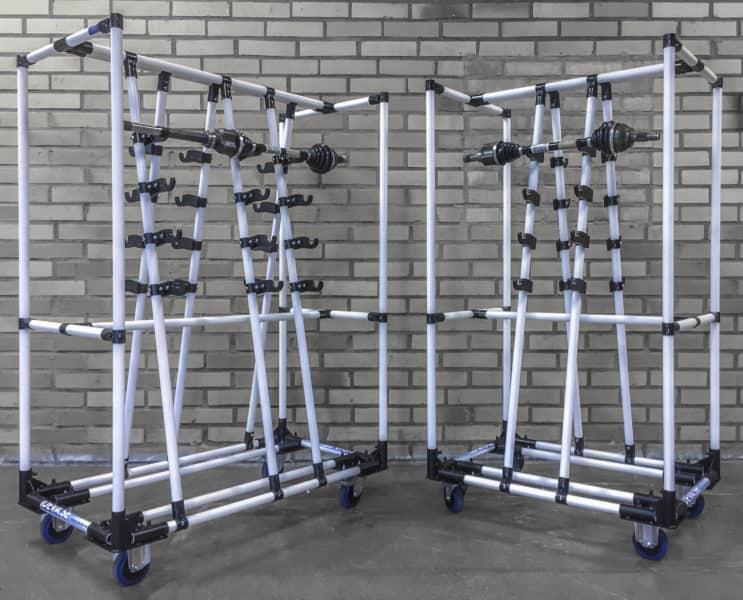 Chariots porte-pieces