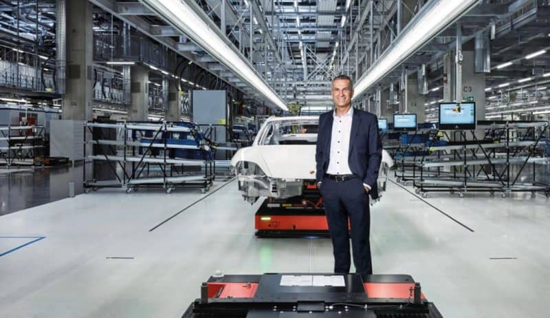 Porsche Production line is designed according Lean manufacturing principles