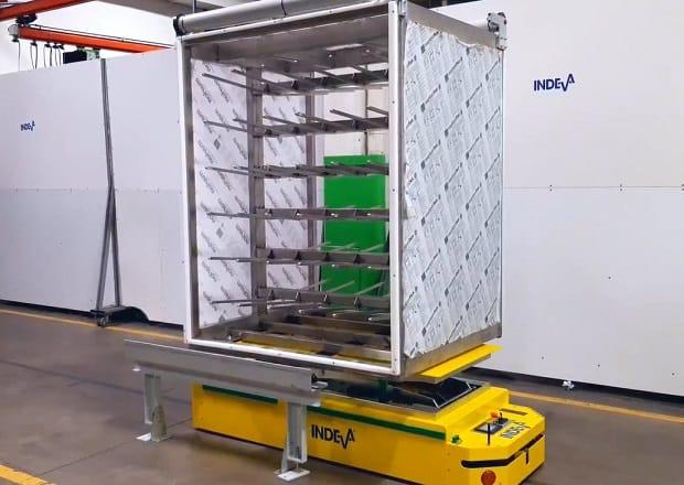 AGV pour les charges jusqu'à 650 kg