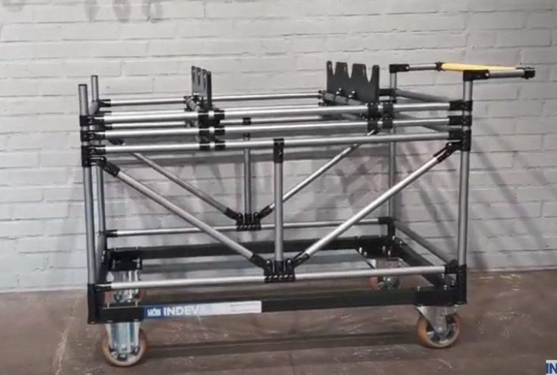 Kit de chariot réglable pour arbres à cames