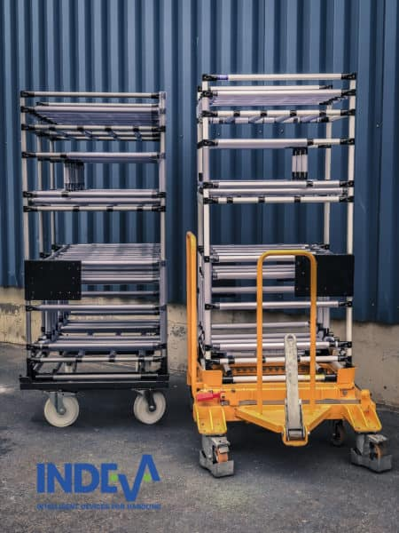 Un'intera gamma di sistemi intralogistici per soddisfare il trasporto di una grande varietà di merci