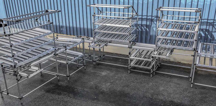 Nos bancs de travail permettent à l'opérateur d'atteindre tous les composants nécessaires pour effectuer leur travail, de manière simple et ergonomique, sans devoir se pencher, se déplacer ou tourner