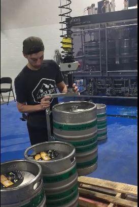 manutentionner fûts de bière sans effort