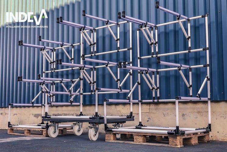 Les chariots proposés par INDEVA sont idéaux pour résoudre de nombreux problèmes et besoins, entièrement personnalisables pour répondre à toute demande.