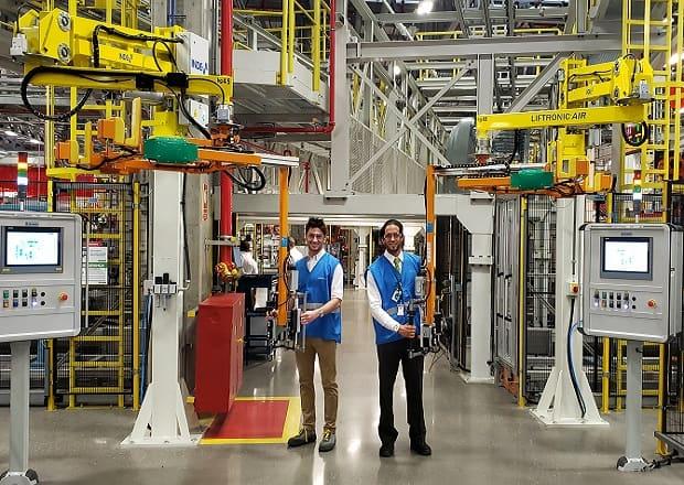 Scania Brésil a choisi INDEVA pour la manutention de différents composants dans l'industrie automobile